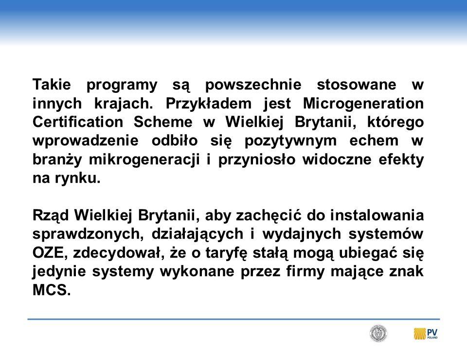 Takie programy są powszechnie stosowane w innych krajach.