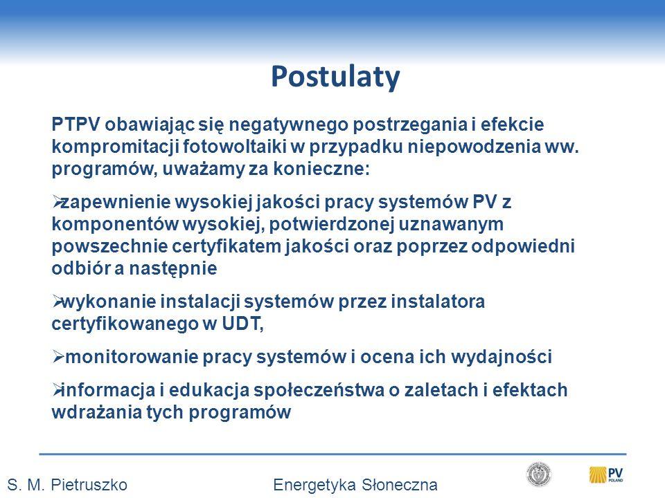 Postulaty S.M.
