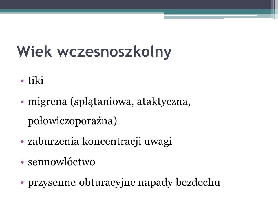 Padaczka z ciągłymi zespołami iglicy- fali podczas snu wolnofalowego 4-6 r.z.