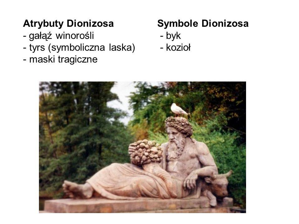 Święta Dionizosa obchodzono kilka razy do roku.
