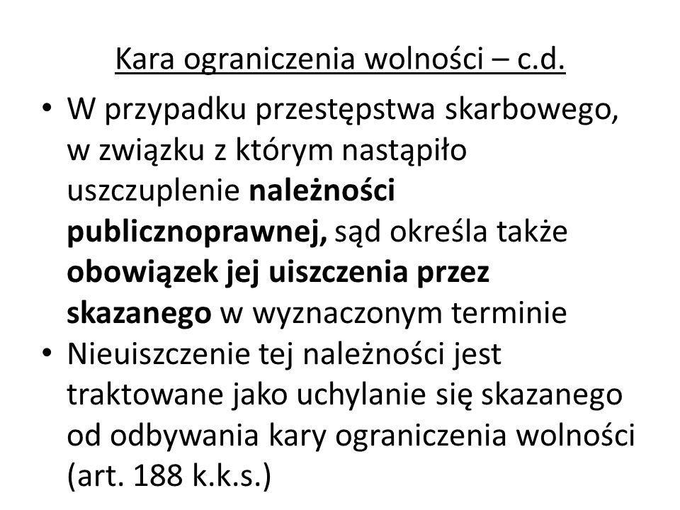 Przedawnienie karalności przestępstwa skarbowego (art.