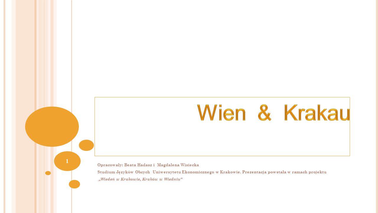 Źródła: https://www.hueber.de/sixcms/media.php/36/H11-Thuer-Urlaubskarte.pdfhttps://www.hueber.de/sixcms/media.php/36/H11-Thuer-Urlaubskarte.pdf, data dostępu: 06.04.2015 http://deutsch.nowawies.pl/kraje-niemieckojezyczne.htmlhttp://deutsch.nowawies.pl/kraje-niemieckojezyczne.html, data dostępu: 06.04.2015 http://www.poland24h.pl/atrakcje/Krakow-2436,8.htmlhttp://www.poland24h.pl/atrakcje/Krakow-2436,8.html, data dostępu: 06.04.2015 https://www.wien.gv.at/umwelt/wasserbau/gewaesser/donau/https://www.wien.gv.at/umwelt/wasserbau/gewaesser/donau/, data dostępu: 06.04.2015 http://lisbeth.klingt.org/?page_id=397http://lisbeth.klingt.org/?page_id=397, data dostępu: 06.04.2015 http://krakow.lovetotravel.pl/rynek_glowny_w_krakowiehttp://krakow.lovetotravel.pl/rynek_glowny_w_krakowie, data dostępu: 06.04.2015 http://www.planet-vienna.com/spots/Stephansdom/stephansdom.htmhttp://www.planet-vienna.com/spots/Stephansdom/stephansdom.htm, data dostępu: 06.04.2015 http://en.wikipedia.org/wiki/St._Mary s_Basilica,_Krak%C3%B3whttp://en.wikipedia.org/wiki/St._Mary s_Basilica,_Krak%C3%B3w, data dostępu: 06.04.2015 http://www.vienna.at/wiens-weihnachtsbeleuchtung-wird-ab-freitag-erstrahlen/3424617http://www.vienna.at/wiens-weihnachtsbeleuchtung-wird-ab-freitag-erstrahlen/3424617, data dostępu: 06.04.2015 http://www.krohm.net/?p=472http://www.krohm.net/?p=472, data dostępu: 06.04.2015 http://krakow.naszemiasto.pl/artykul/krakow-chce-zmienic-wyglad- dorozek,770486,art,t,id,tm.html, data dostępu: 06.04.2015 https://www.wien.gv.at/freizeit/essen/kaffeehaus/geschichte.htmlhttp://krakow.naszemiasto.pl/artykul/krakow-chce-zmienic-wyglad- dorozek,770486,art,t,id,tm.html, data dostępu: 06.04.2015 https://www.wien.gv.at/freizeit/essen/kaffeehaus/geschichte.html, data dostępu: 06.04.2015 http://wesela.info.pl/author/admin/page/45http://wesela.info.pl/author/admin/page/45, data dostępu: 06.04.2015 https://www.wien.gv.at/freizeit/essen/kaffeehaus/geschichte.htmlhttps://www.wien.gv.at/freizeit/essen/