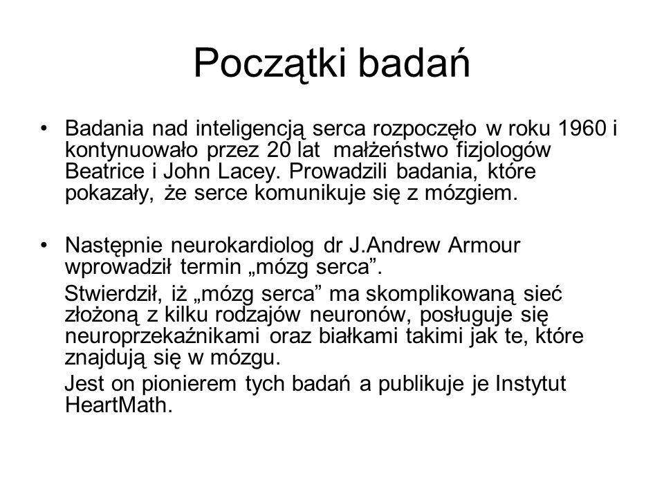 Neurokardiologia – dziedzina medycyny zajmująca się związkami między zaburzeniami pracy serca a układem nerwowym W opublikowanej w 1991 r.