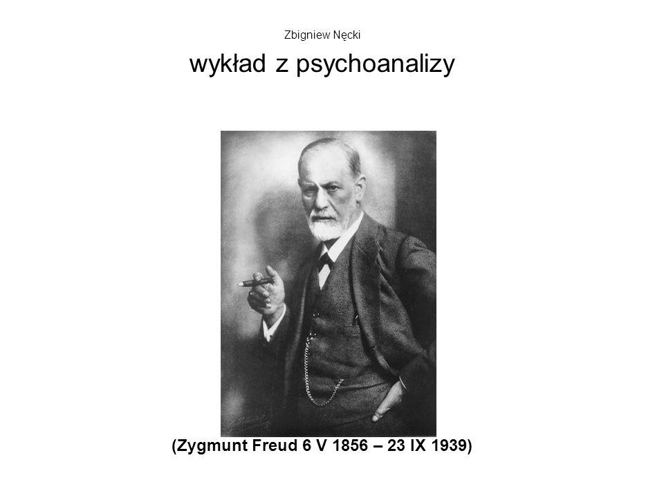 Psychoanaliza (obraz wnuka Freuda, Lucjana z 1995 roku, sprzedany za 17 mln funtów) Faza oralna 0 – 2 lata ustaSsanie, jedzenieZależność, bierność, zachłanność, zawiść Faza analna 2 – 3 lata odbytWydalanie.