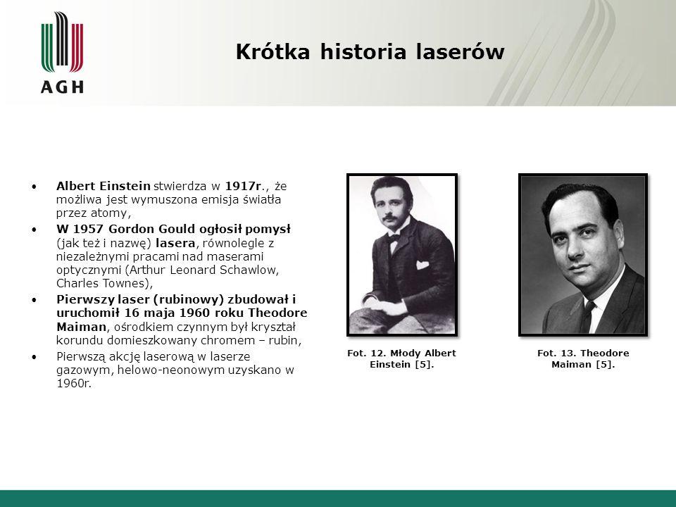 Krótka historia laserów Nagroda Nobla z fizyki - 1964 - N.