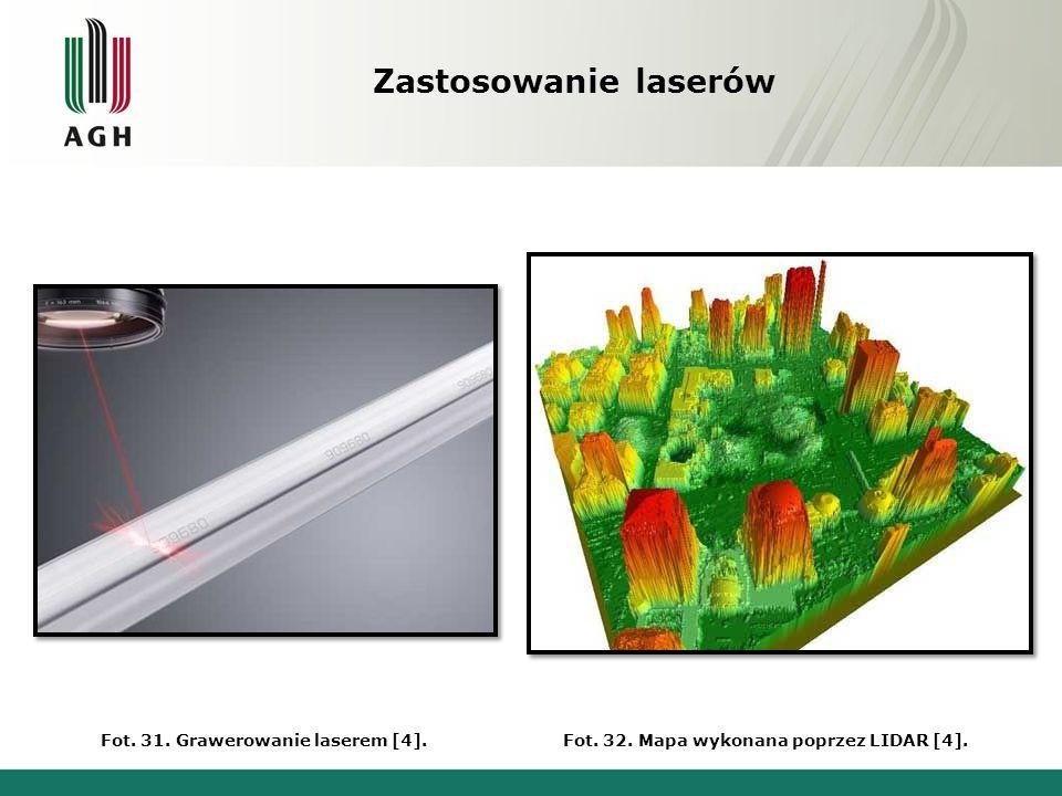 Zastosowanie laserów Fot.33. Operacje wzroku metodą LASIK [4].Fot.