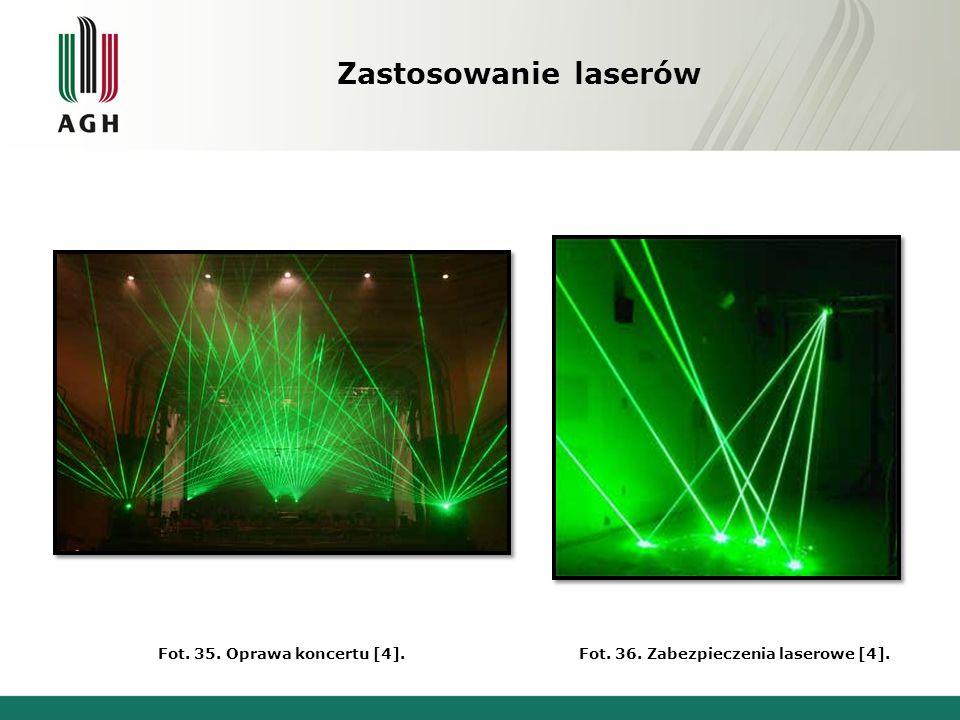 Zastosowanie laserów Fot.37. F-16 z pociskiem namierzanym laserowo [4].Fot.