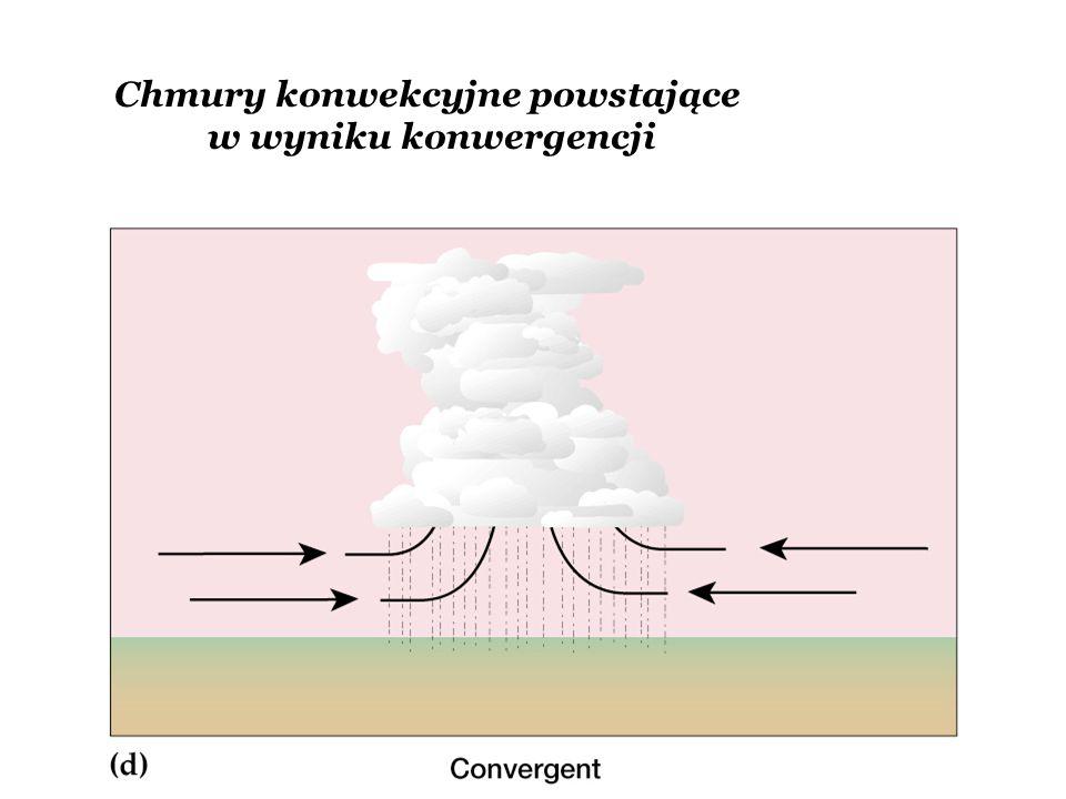 Chmury konwekcyjne powstające w wyniku konwergencji