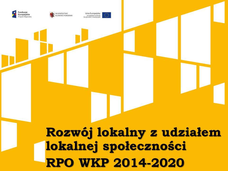 Rozwój lokalny z udziałem lokalnej społeczności RPO WKP 2014-2020