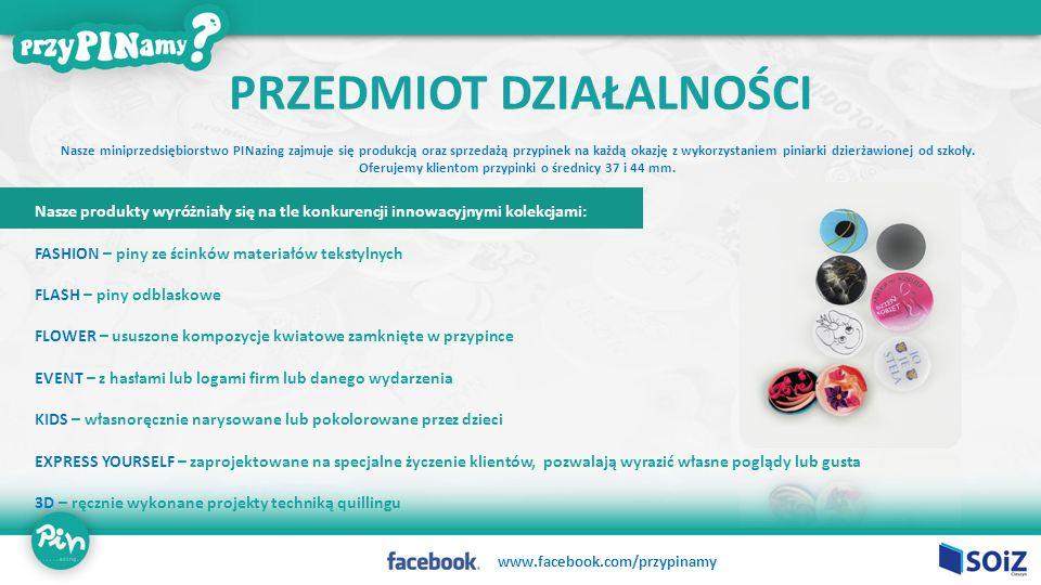 Nasze miniprzedsiębiorstwo PINazing zajmuje się produkcją oraz sprzedażą przypinek na każdą okazję z wykorzystaniem piniarki dzierżawionej od szkoły.
