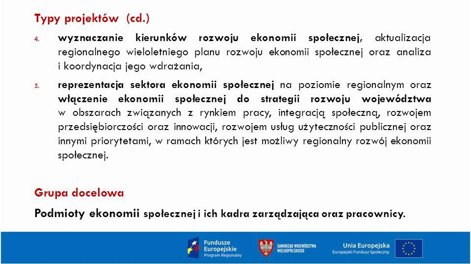 Typy projektów (cd.) 4.