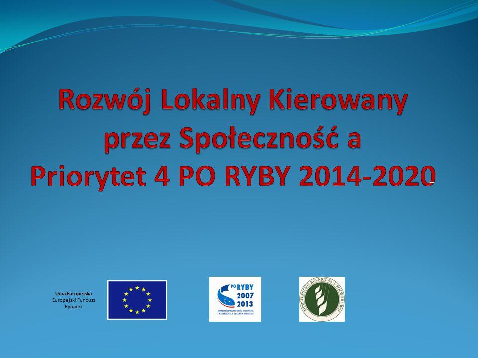 """Plan prezentacji: Unia Europejska Europejski Fundusz Rybacki  Wsparcie przygotowawcze  Warunki udziału w konkursie na wybór LSR  Sposób dokonania oceny spełniania warunku """"rybackości"""