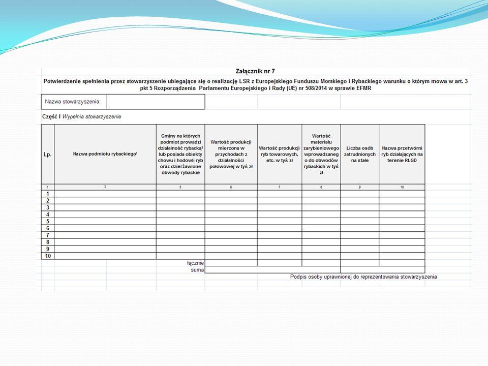 Kryteria podziału środków finansowych na realizację LSR przez RLGD  Aby zakwalifikować się do wyższego progu należy spełnić obydwa parametry.