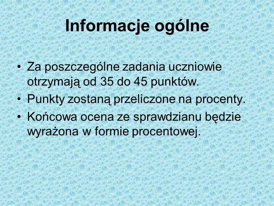 Informacje ogólne Sprawdzianu szóstoklasisty z języka angielskiego nie można nie zdać.