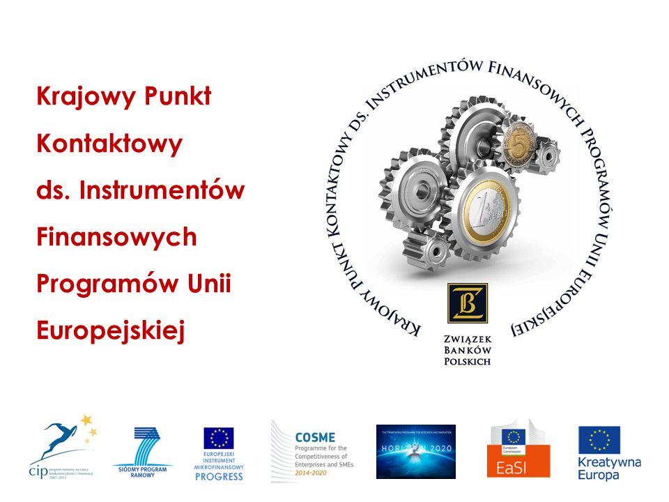 Instrumenty finansowe w programach UE Krajowy Punkt Kontaktowy ds.