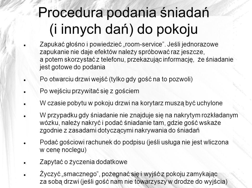 """Bibliografia www.scholaris.pl www.google.pl Książka """"Obsługa gości (konsumentów) Renata Szajna, Danuta Ławniczak, Alina Ziaja, wyd."""