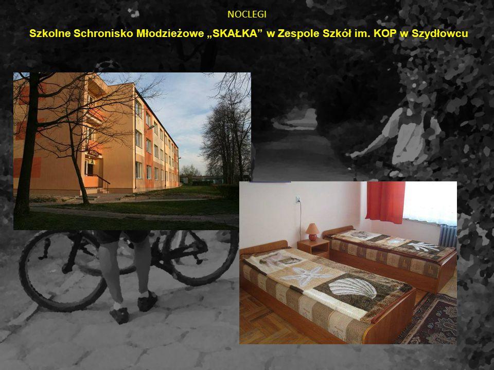 """NOCLEGI Szkolne Schronisko Młodzieżowe """"SKAŁKA"""" w Zespole Szkół im. KOP w Szydłowcu"""
