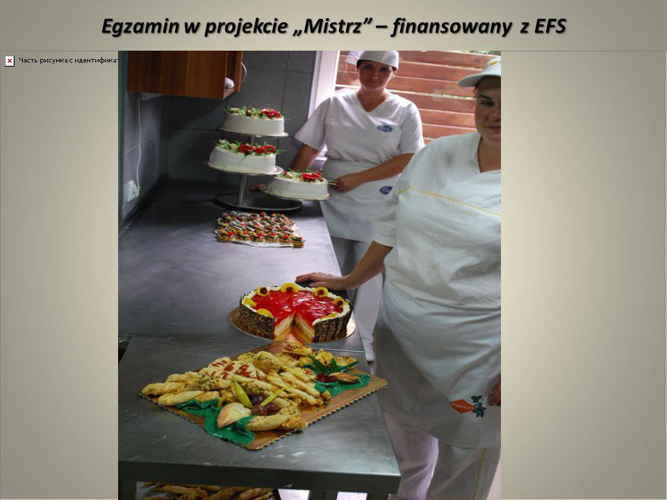 """Egzamin w projekcie """"Mistrz"""" – finansowany z EFS"""