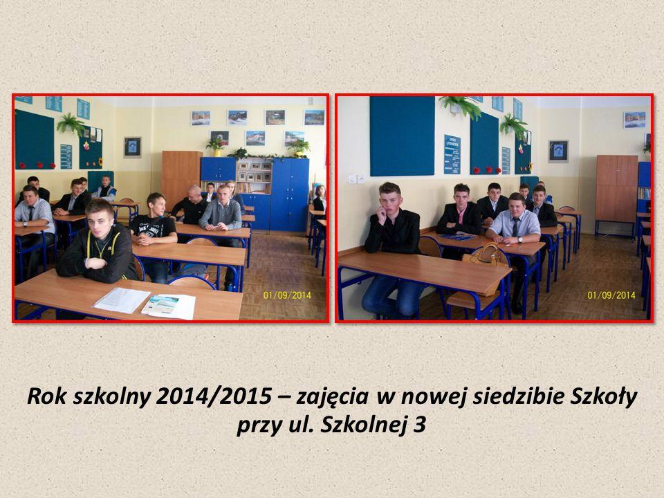 Rok szkolny 2014/2015 – zajęcia w nowej siedzibie Szkoły przy ul. Szkolnej 3