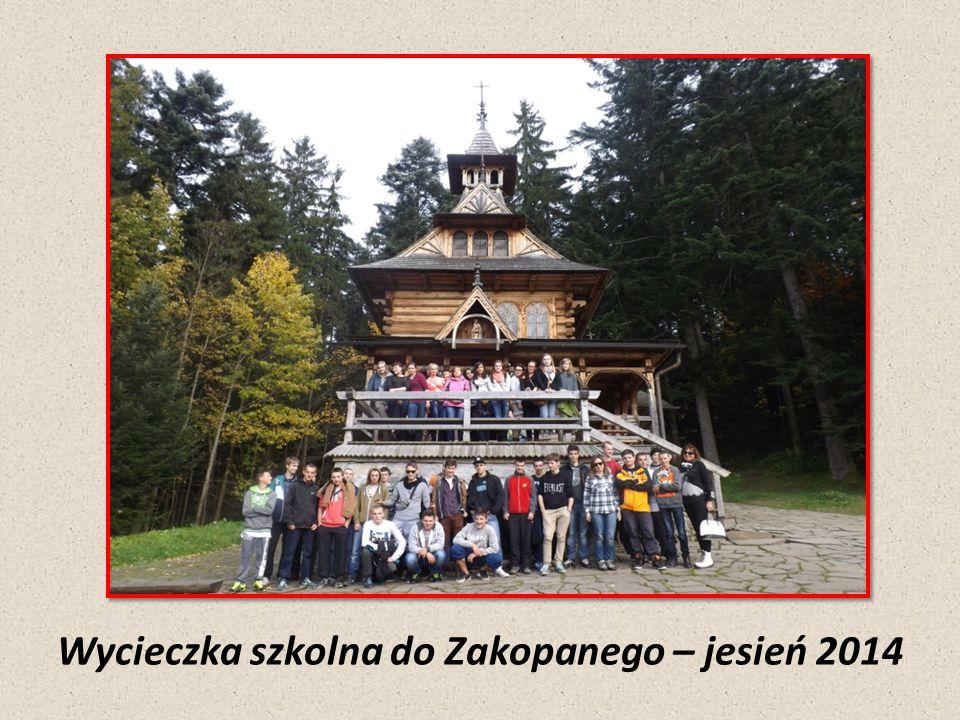 Wycieczka szkolna do Zakopanego – jesień 2014