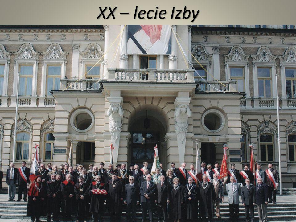 XX – lecie Izby