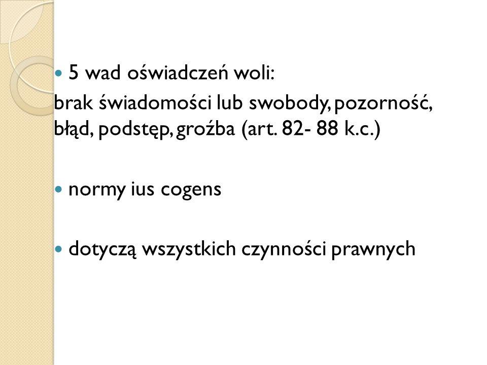 "Podstęp Art.86 k.c.: ""§ 1."