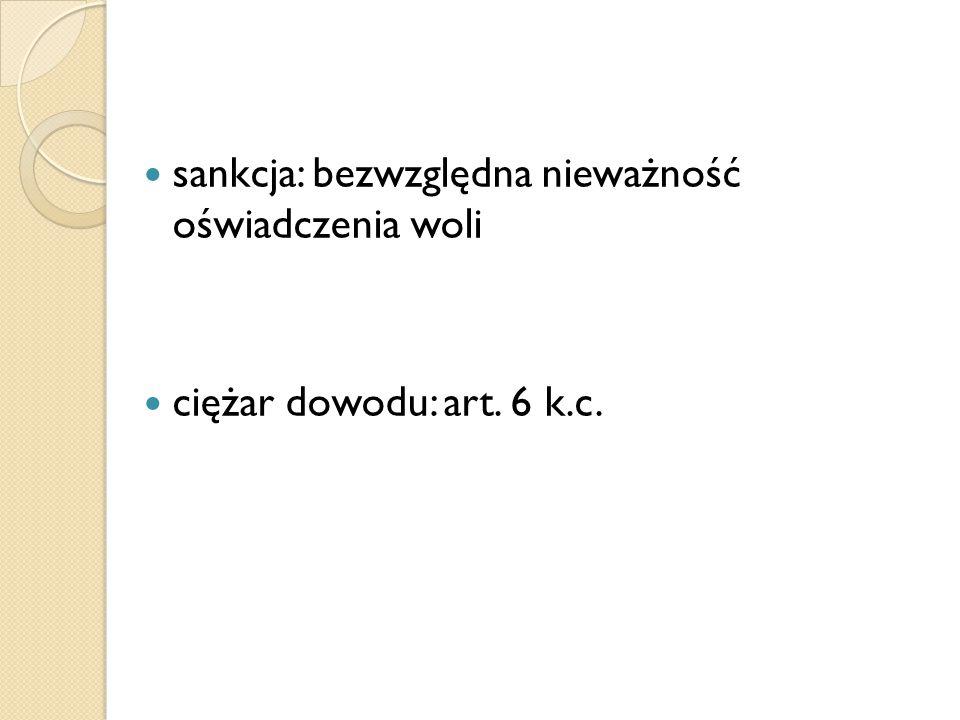 "Pozorność Art.83 k.c.: ""§ 1."