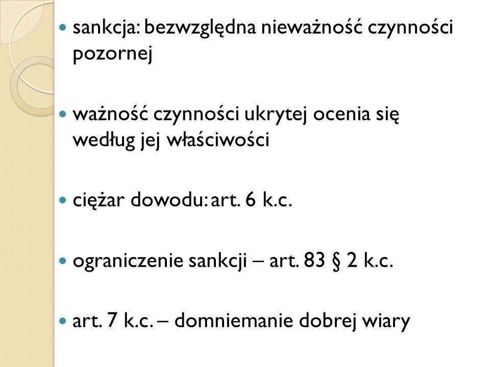 """Błąd Art.84 k.c.: """"§ 1."""