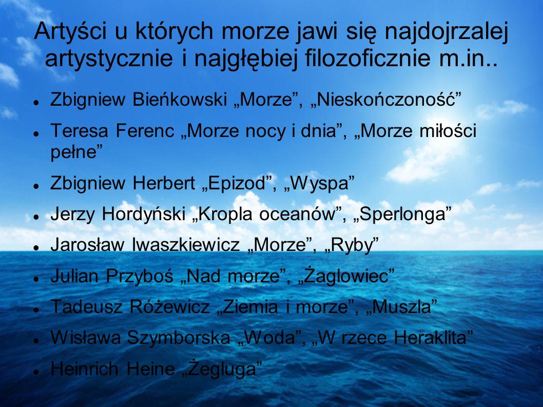 ROMANTYZM Smutno mi, Boże J. Słowacki MORZE - PRZESTRZEŃ WZMAGAJĄCA SAMOTNOŚĆ: Podmiot liryczny odczuwa samotność, to uczucie pogłębia jego położenie: