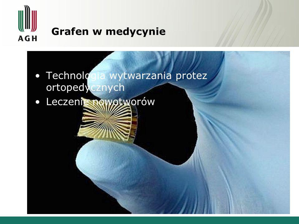 Grafen w medycynie Technologia wytwarzania protez ortopedycznych Leczenie nowotworów
