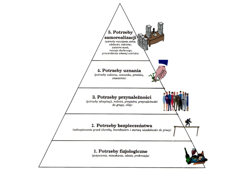 Cechy potrzeb : Nieograniczoność co do rodzaju Ograniczoność co do intensywności odczuwania Zmienność Rozwojowość