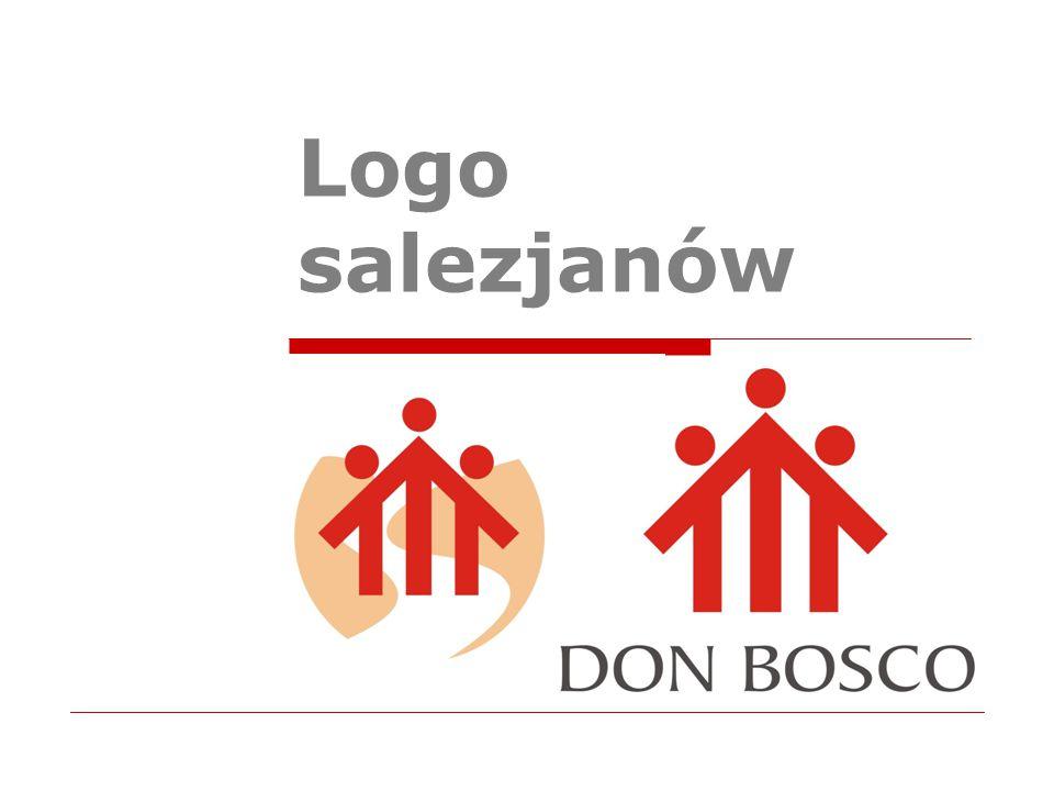  Idea logo powstała w oparciu o odzwierciedlenie pomnika Księdza Bosko na Valdocco.