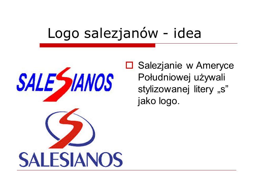 """ Salezjanie w Ameryce Południowej używali stylizowanej litery """"s"""" jako logo. Logo salezjanów - idea"""