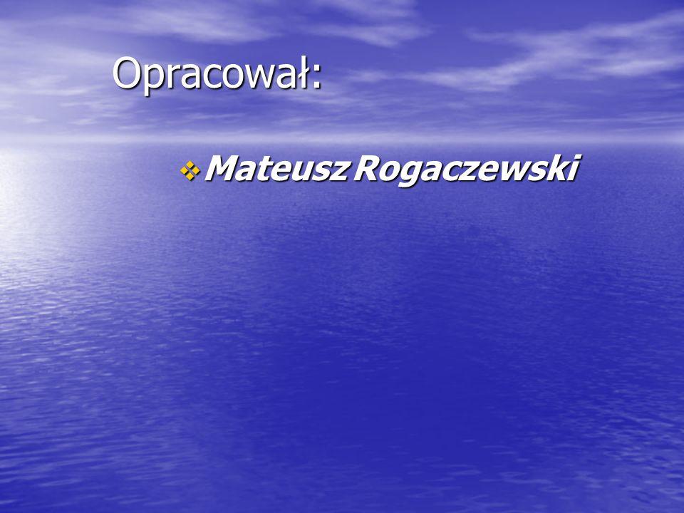 Opracował:  Mateusz Rogaczewski