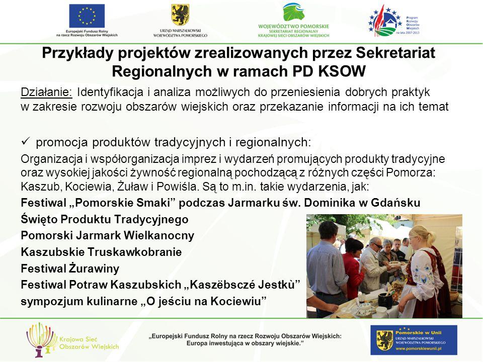 """promocja produktów tradycyjnych i regionalnych: impreza folklorystyczna """"Na św."""