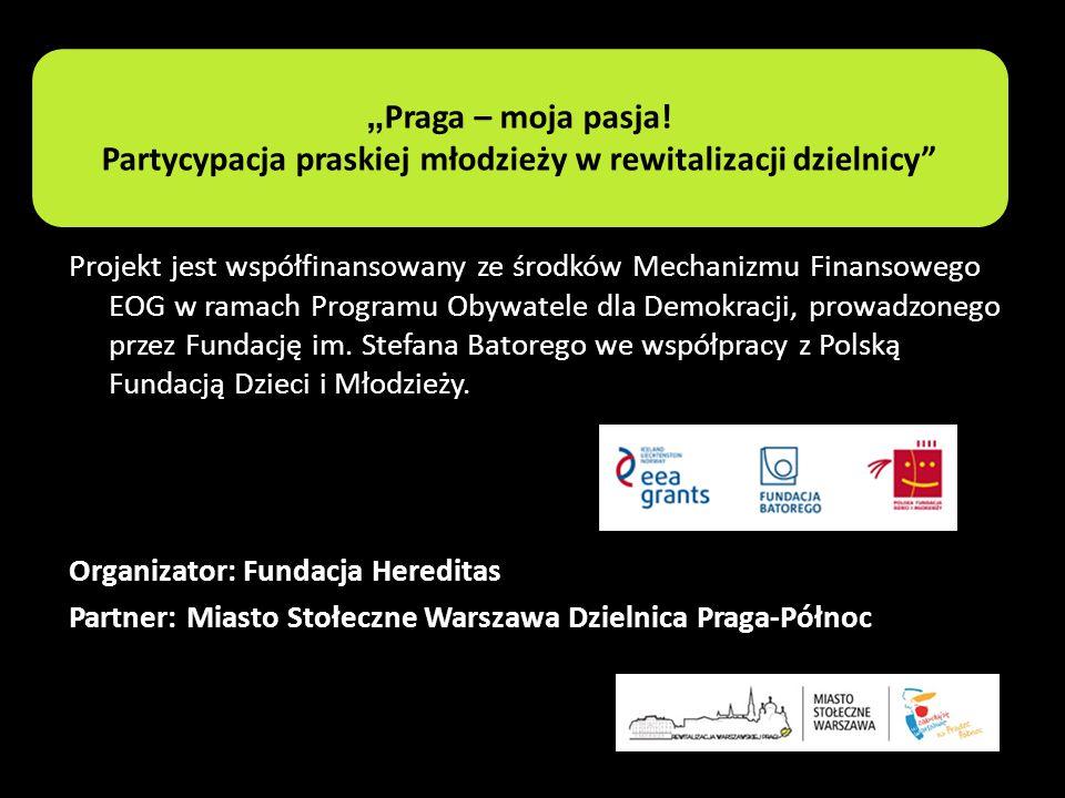Projekt jest współfinansowany ze środków Mechanizmu Finansowego EOG w ramach Programu Obywatele dla Demokracji, prowadzonego przez Fundację im. Stefan