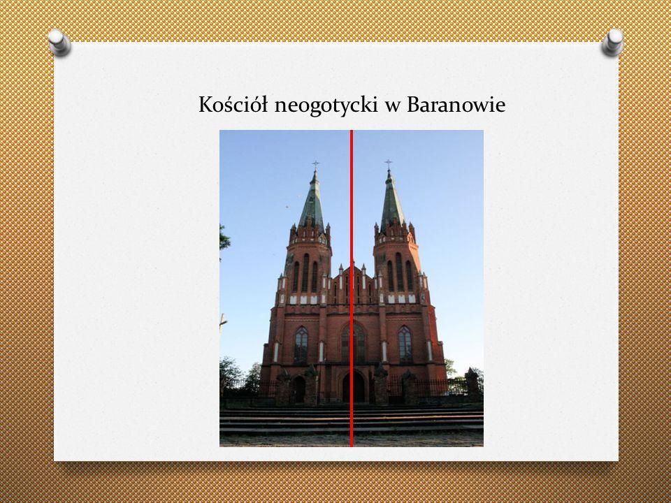 Kościół neogotycki w Baranowie