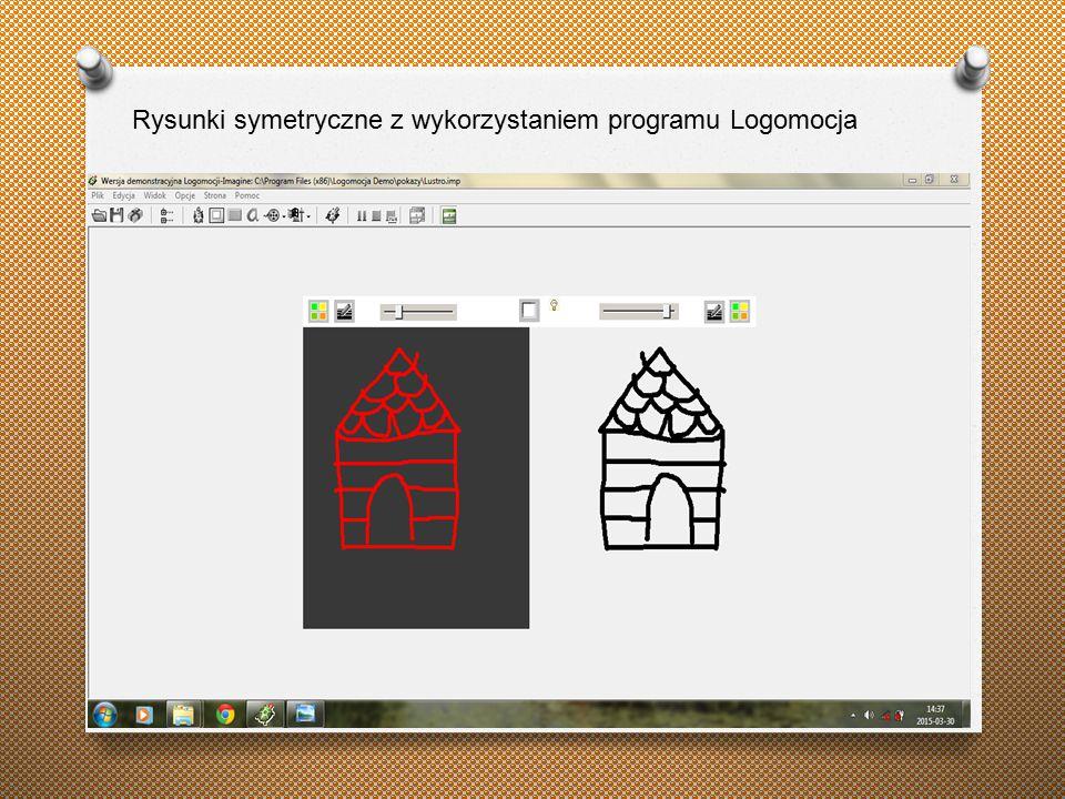 Rysunki symetryczne z wykorzystaniem programu Logomocja