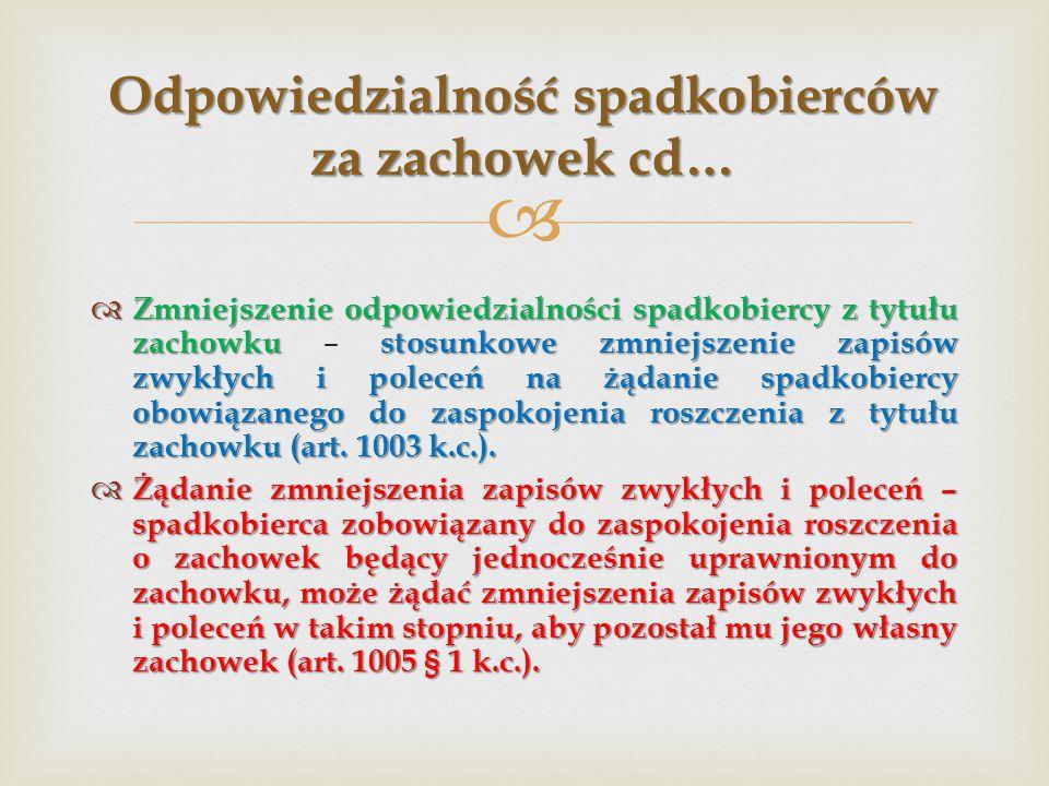  1.Spadkobiercy powołani do dziedziczenia (art. 991 § 2 k.c.) 1.