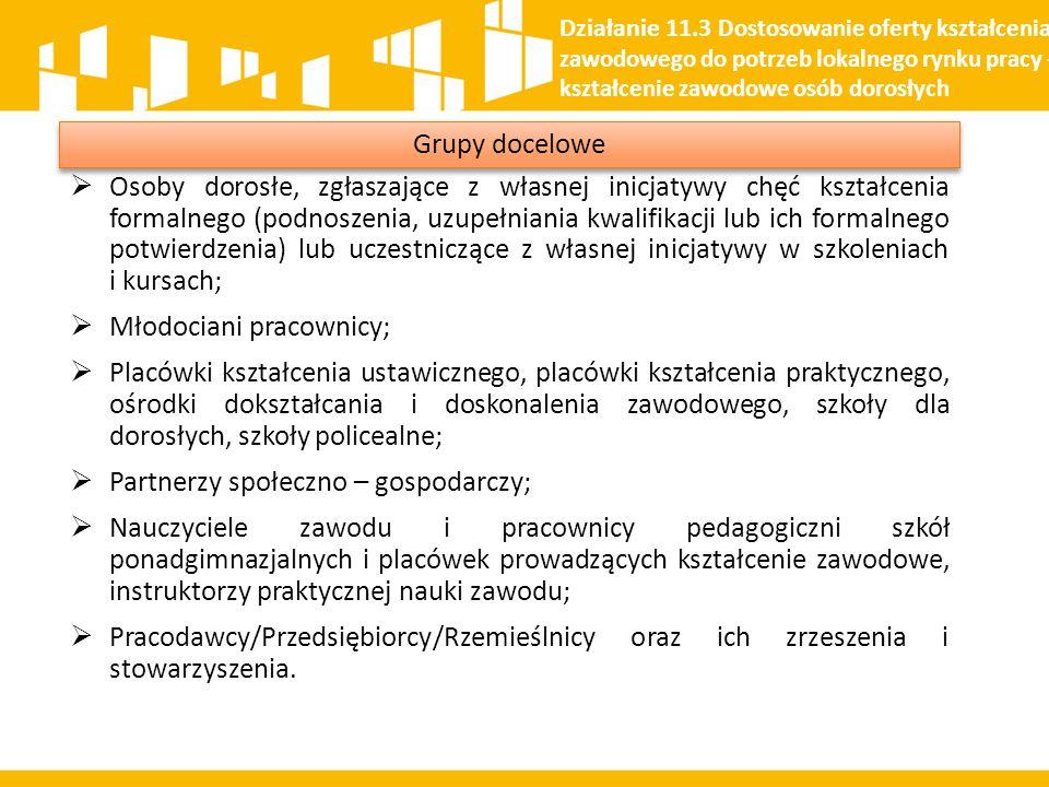  Osoby dorosłe, zgłaszające z własnej inicjatywy chęć kształcenia formalnego (podnoszenia, uzupełniania kwalifikacji lub ich formalnego potwierdzenia