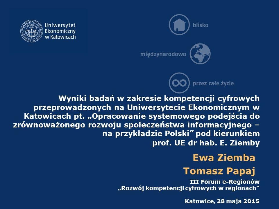 CSFs dla e-government w Polsce - administracja rządowa oraz administracja lokalna X28 – Kompetencje ICT pracowników jednostek administracji publicznej