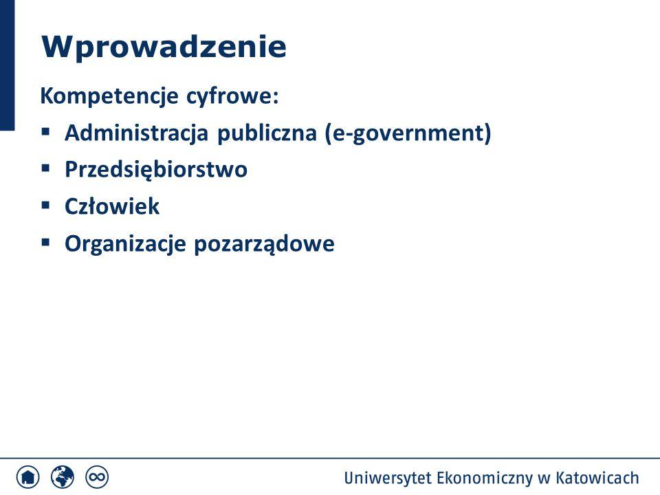 Wprowadzenie Budowa e-government – wyzwaniem i priorytetem dla wielu krajów, regionów, miast rozwójspołeczno-ekonomiczny informacja CT ICT przebudowa procesów udostępnianie e-usług publicznych e-government