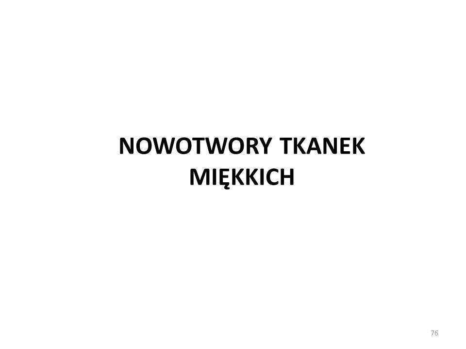 76 NOWOTWORY TKANEK MIĘKKICH