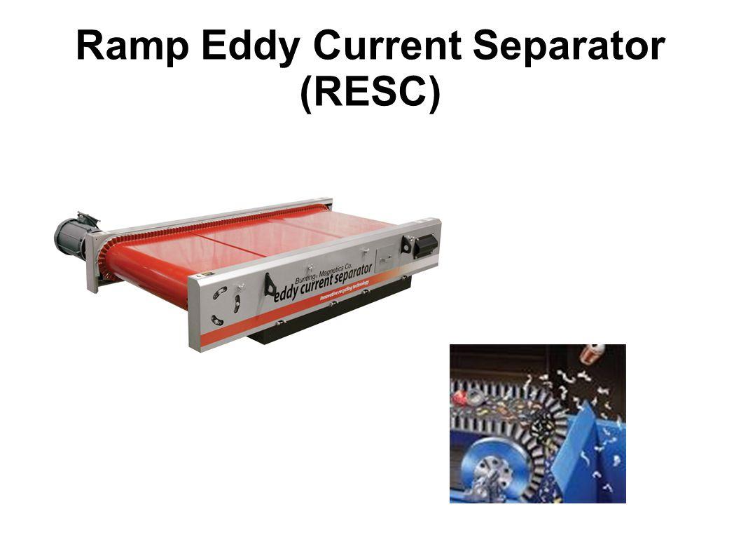 Ramp Eddy Current Separator (RESC)