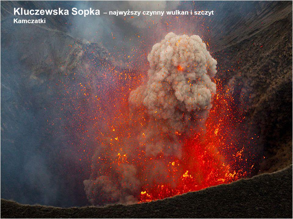 Kluczewska Sopka – najwyższy czynny wulkan i szczyt Kamczatki