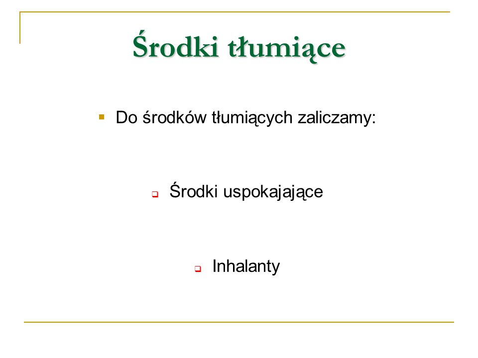 """Środki pobudzające  Do środków pobudzających zaliczamy:  środki pobudzające (stymulanty)  amfetaminę (""""amfa )  kokainę (""""koka )"""