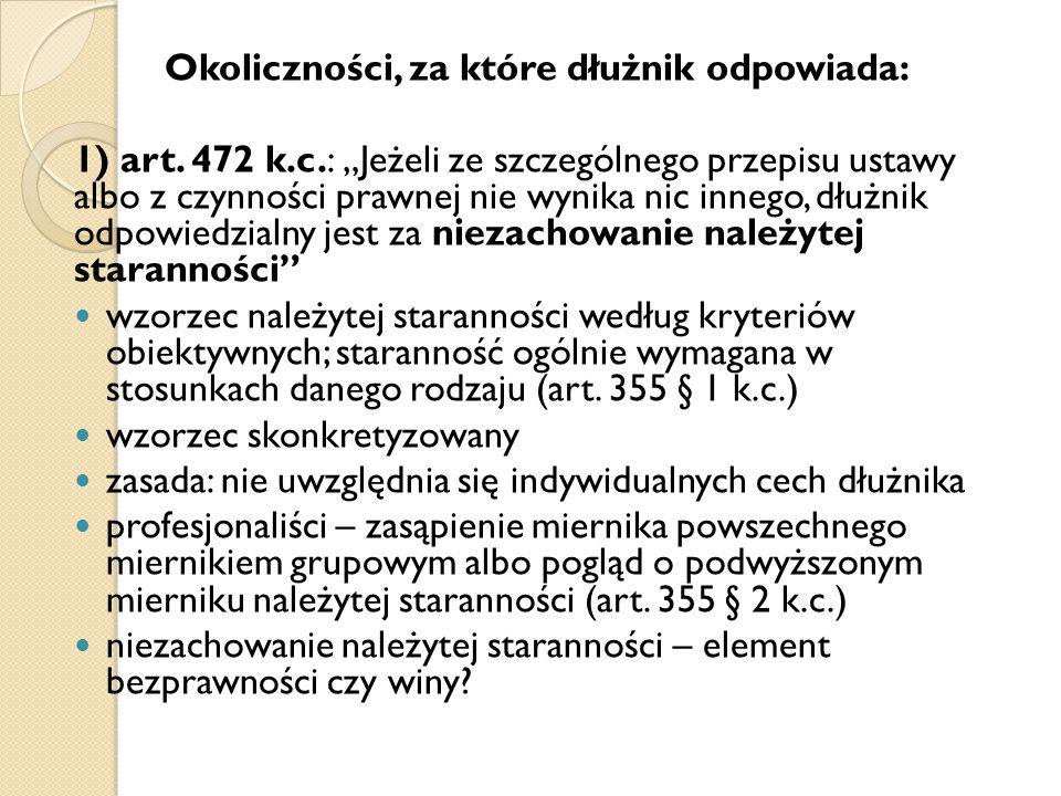 2) ustawa: zawężenie rozszerzenie 3) umowa: surowiej łagodniej art.