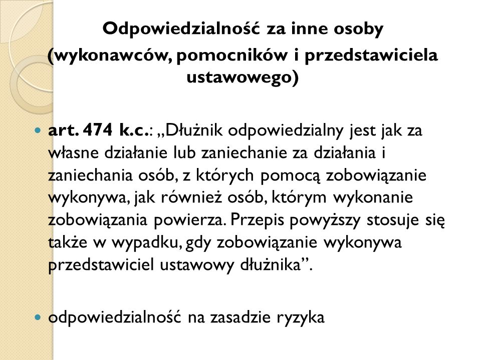 Ciężar dowodu: art.6 k.c.