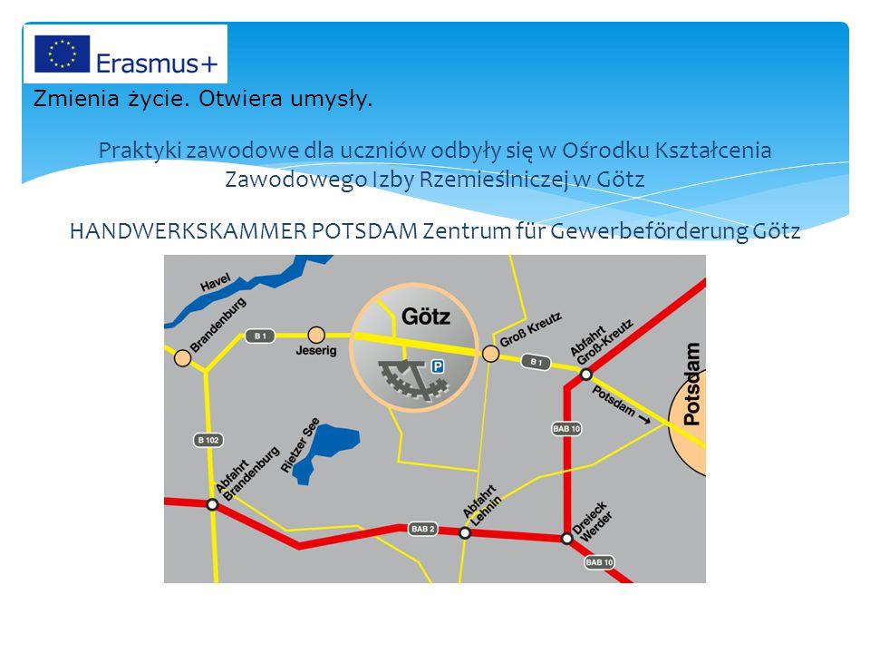 Zentrum für Gewerbeförderung w Götz Zmienia życie. Otwiera umysły.
