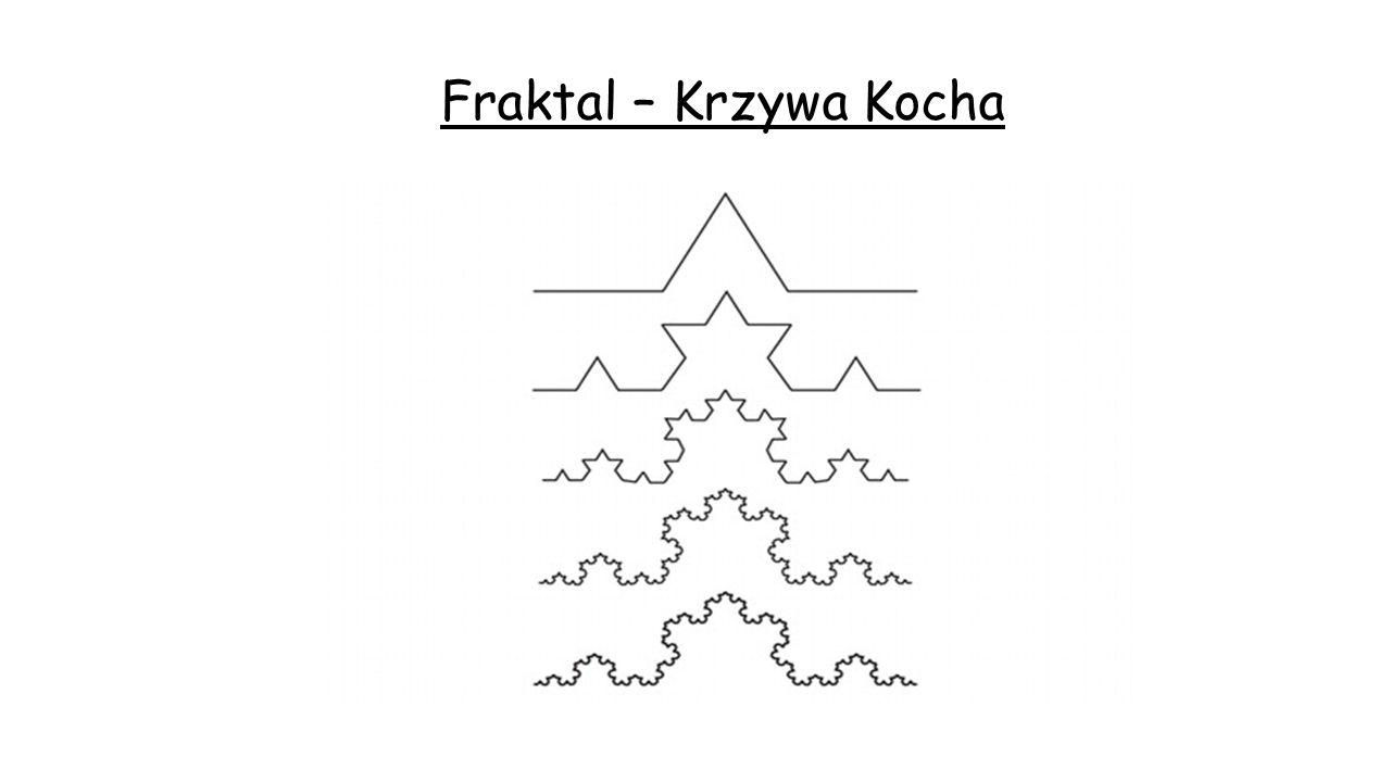 Uniwersalna Teoria Fraktali Źródło rysunków: internet